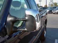 Chrome Mirror Covers - Ford Chrome Mirror Covers - 99-07 Ford F-250/350 Super Duty TFP Chrome Side Tow Mirror Covers