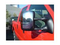 Chrome Mirror Covers - Ford Chrome Mirror Covers - 03-06 Ford F-250/350 Super Duty TFP Chrome Side Tow Mirror w/Turn Signal Covers