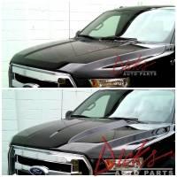 15-16 Ford F-150 Aluminum Cowl Induction Hood - Image 2