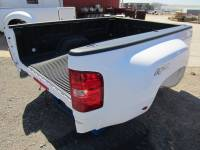 Chevrolet & GMC Truck Beds - 07-13 Chevy Silverado & GMC Sierra Truck Beds - 07-14 Chevy Silverado/GMC Sierra 3500 White 8' Dually Bed