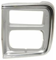 OE - 85-91 Chevy/GMC G10/G20/G30 Van Replacement Passenger's Side 2 Headlight Bezel