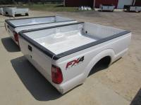 Ford Truck Beds - 99-15 Ford F-250/F-350 Super Duty Truck Beds - 11-16 Ford F-250/F-350 Super Duty Pearl White 8' Long Bed Truck Bed *****Fits 99-10 Ford F-250 F-350 8' Long Beds!*****