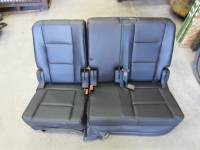New and Used OEM Seats - Ford Replacement Seats - 11-16 Ford Explorer Black Vinyl Rear 60/40 Seat