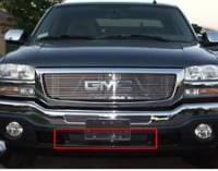 Grille Inserts - Chevy/GMC - Luverne - 03-06 GMC Sierra Luverne Billet-Style Stainless Steel Grille Insert