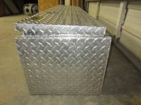Unique 72 in. Standard Topsider Diamond Plated Aluminum Truck Toolbox - Image 11