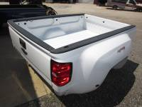 Chevrolet & GMC Truck Beds - 14-15 Chevy Silverado & GMC Sierra Truck Beds - 15-16 Chevy Silverado 3500 Dually White 8' Long Truck Bed
