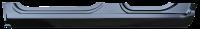 Rocker Panels - Dodge - Key Parts - 09-16 Dodge RAM Quad Cab LH Driver's Side Rocker Panel