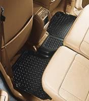 Floor Liners - Dodge - 04-08 Dodge Durango Husky Black 3rd Row Floor Liner