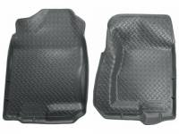 Floor Liners - Chevy/GMC - 99-06 Chevy Silverado/GMC Sierra Extended Cab Short Bed Husky Gray Front and Rear Floor Liners Set