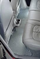 Floor Liners - Ford - 03-05 Ford Explorer/Mercury Mountaineer/Lincoln Aviator 4-Door Husky Gray 3rd Row Seat Floor Liners