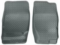 Floor Liners - Ford - 08 Ford Explorer/Mercury Mountaineer 4-Door Husky Gray Front and 2nd Row Floor Liners Set
