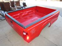 Ford Truck Beds - 99-15 Ford F-250/F-350 Super Duty Truck Beds - 11-16 Ford F-250 F-350 Superduty Red 8' Long Bed Truck Bed *****Fits 99-10 Ford F-250 F-350 8' Long Beds!*****