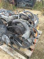 94-95 Ford E-350 Econoline Van 7.3L Engine Core Parts and Transmission - Image 2