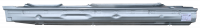 99-05 BMW 3-Series Sedan 4-Door Passenger's Side Rocker Panel