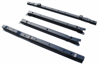 Crossmembers - Ford Crossmembers - 99-15 Ford F-250/F-350 Super Duty 8ft Bed Floor Cross Sill 4-Piece Repair Kit
