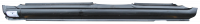 Rocker Panels - Kia - 98-01 Kia Sephia / 02-04 Kia Spectra Sedan Driver's Side Rocker Panel