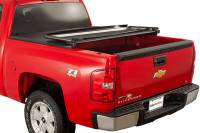 Tonneau Covers  - Chevy Tonneau Covers - 07-13 Chevy Silverado/GMC Sierra 8ft Long Bed Advantage Torza Top Tonneau Cover