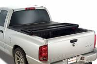 Tonneau Covers  - Dodge Tonneau Covers - 05-11 Dodge Dakota 5.25ft Bed Advantage Hard Hat Tonneau Cover