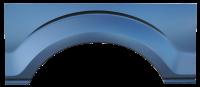 09-14 Ford F-150 RH Passenger's Side Rear Upper Wheel Arch w/o Molding Holes