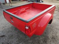 Ford Truck Beds - 99-15 Ford F-250/F-350 Super Duty Truck Beds - 11-16 Ford F-350 Superduty 8' Red Dually Long Bed ***** Fits 99-10 Ford F-350 Superduty 8' Dually Long Bed ****