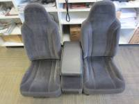 New and Used OEM Seats - Dodge Replacement Seats - 00-04 Dodge Dakota Standard Cab Gray Cloth 40/20/40 Seat