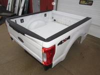 Ford Truck Beds - 17-C Ford F-250/F-350 Super Duty Truck Beds - 17-C Ford F-250/F-350 Super Duty White 6.9' Short Truck Bed