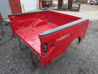 04-08/09-14 Ford F-150 Truck Beds - 5.5' Short Bed - 09-14 Ford F-150 Red 5.5' Short Truck Bed