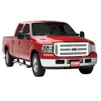 Lund - 05-07 Ford Super Duty Lund Polished Aluminum Eliptical Grille Insert