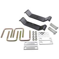 Clearance Corner - Springs - SuperSprings Leaf Helper Spring 4 in. Long U-bolts Mounting Kit