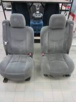 New and Used OEM Seats - Chevy/GMC Replacement Seats - 99-06 Chevy Silverado Dark Gray Cloth 40/20/40 Bucket Seats