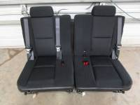 New and Used OEM Seats - Chevy/GMC Replacement Seats - 07-13 Chevy Suburban/GMC Yukon XL OE Black/Ebony Cloth 3rd Row Rear Bench Seat