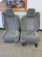 New and Used OEM Seats - Chevy/GMC Replacement Seats - 99-06 Chevy Silverado Dark Gray Cloth Bucket Seats