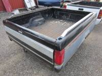 80-96 Ford F-150/F-250/F-350 Truck Beds - 6.5ft Short Bed - Used 87-96 Ford F-150/F-250/F-350 Single Tank 6.5ft Black/Silver Short Bed