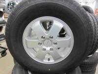 "Takeoff Wheels & Tires - Import Wheels & Tires - 15-16-17 Mercedes Benz Sprinter OEM 16"" Silver Aluminum Wheels with LT245/75/16 Continental VancoFourSeason Tires"