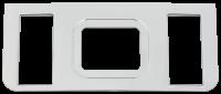 Auto Body Panels - Interior - 69-72 Chevy/GMC P/U Center Console Bezel
