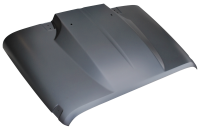 Cowl Induction Hoods - Jeep Wrangler Cowl Induction Hoods - 07-17 Jeep JK Wrangler Cowl Hood