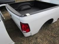 09-18 Dodge Ram Truck Beds - 6.4' Short Bed - New 09-14 Dodge Ram White 6.4' Short Bed