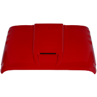 Cowl Induction Hoods - Jeep Wrangler Cowl Induction Hoods