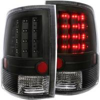 Lighting - Dodge Lights - 09-17 Dodge Ram 1500/2500/3500 LED Black Taillight Set