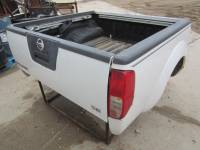 Import Truck Beds - Nissan - Used 98-04 Nissan Frontier Crew Cab White 5ft Short Bed