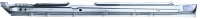 Rocker Panels - Jaguar - 01-09 Jaguar X-Type Rocker Panel RH Passenger's Side