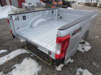 17-C Ford F-250/F-350 Super Duty Truck Beds - 8ft Long Bed - New 17-C Ford F-250/F-350 Super Duty Silver 8ft Long Bed Truck Bed