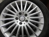 16-19 Mercedes Benz Metris OEM 17 in. Multi-Spoke Aluminum Wheels with 225/55/R17 Hankook Ventus S1 Noble Tires - Image 2