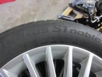 16-19 Mercedes Benz Metris OEM 17 in. Multi-Spoke Aluminum Wheels with 225/55/R17 Hankook Ventus S1 Noble Tires - Image 4
