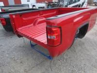 14-18 GMC Sierra - 8ft Long Bed - New 14-18 GMC Sierra Red 8ft Long Truck Bed