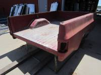 Chevrolet & GMC Truck Beds - 73-87 Chevy/GMC CK Truck Beds - Used 73-87 Chevy CK Red 8ft Long Single Tank Truck Bed