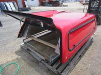 Used 99-07 Ford F-250/F-350 8ft Long Bed Red Century Ultra Work Truck Cap