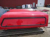 Used 99-07 Ford F-250/F-350 8ft Long Bed Red Century Ultra Work Truck Cap - Image 6