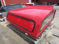 Used 99-07 Ford F-250/F-350 8ft Long Bed Red Century Ultra Work Truck Cap - Image 8