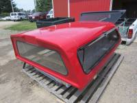 Used 99-07 Ford F-250/F-350 8ft Long Bed Red Century Ultra Work Truck Cap - Image 12